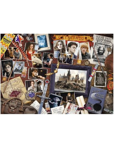 TREFL Puzzle Pamiątki z Hogwartu 500el. 37400