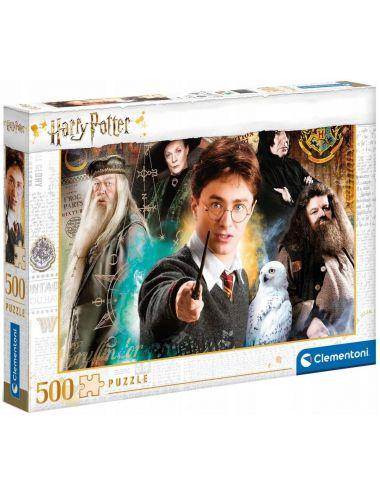 Clementoni Puzzle Harry Potter Hogwart 500el. 35083
