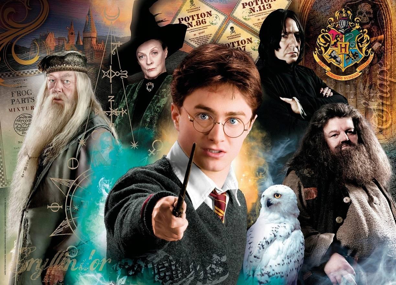 """Clementoni Puzzle 500el. Harry Potter Hogwart 500el 35083"