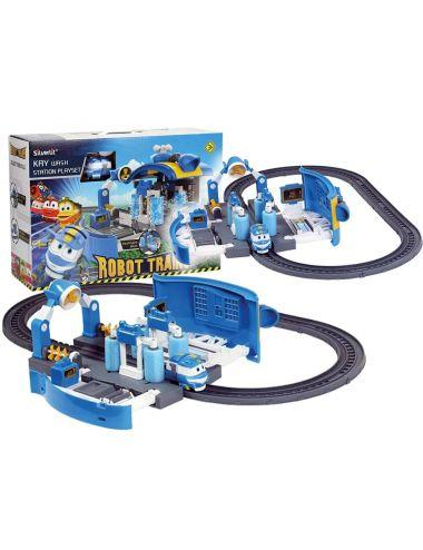 Robot Trains Myjnia Kay Zestaw Pociag Niebieski 80171 Cobi