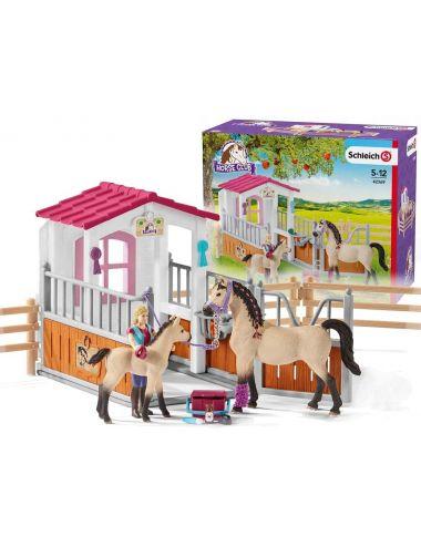 Schleich 42369 Zagroda Dla Koni + Koń Rasy Arabskiej
