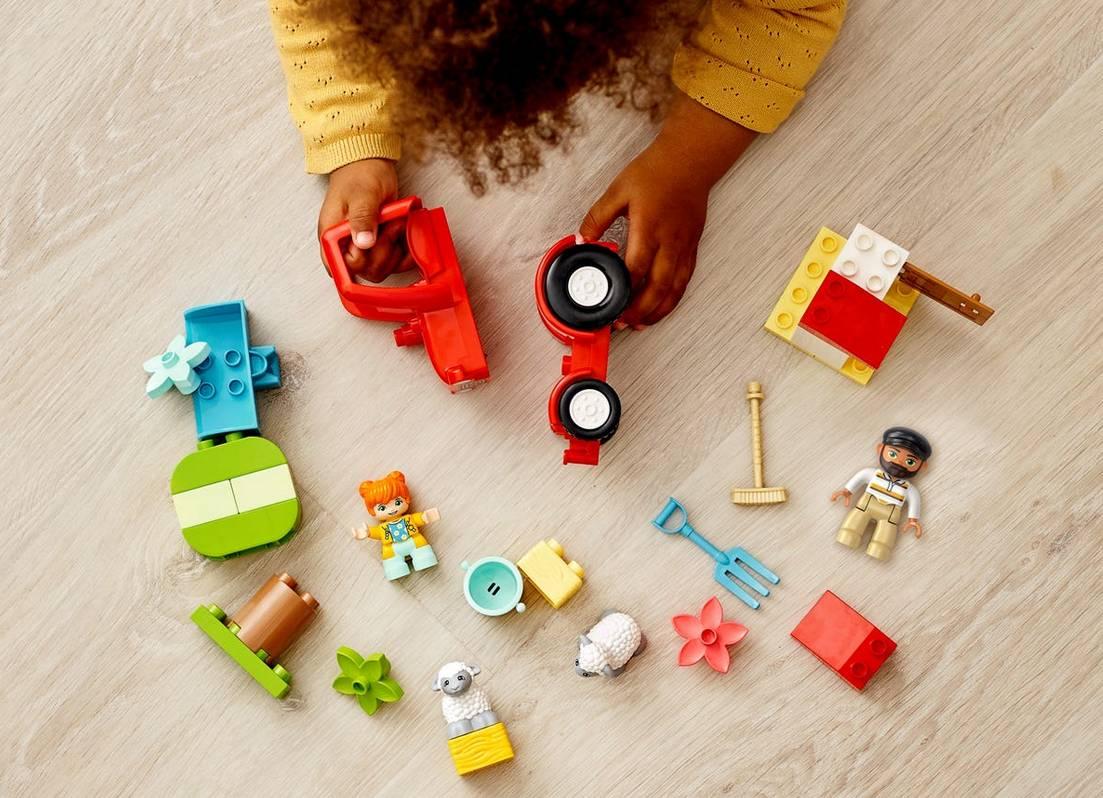 LEGO DUPLO traktor i zwierzeta gospodarskie 10950