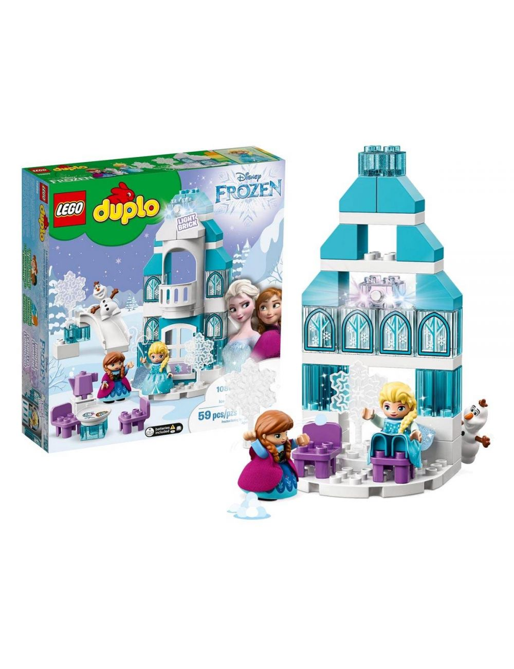LEGO Duplo Zamek z Krainy Lodu Frozen 10899