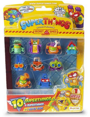 Super Things Secret Spies Blister 10 Pak Figurki Zestaw