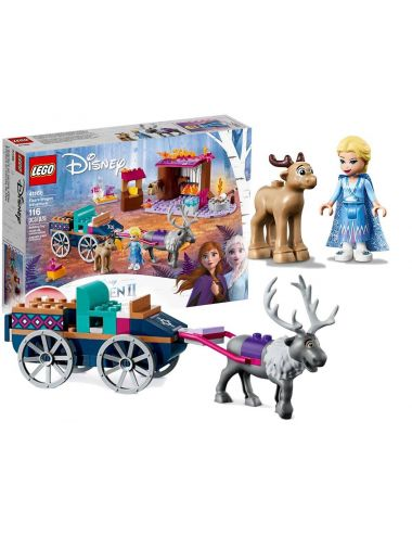 LEGO Disney Wyprawa Elsy Kraina Lodu Frozen II 41166