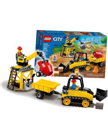 LEGO City Buldożer Budowlany Koparka 60252