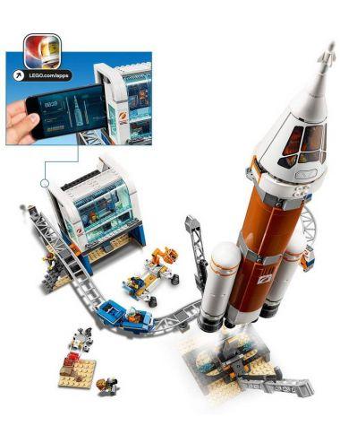 LEGO City Centrum Lotów Kosmicznych Rakieta 60228