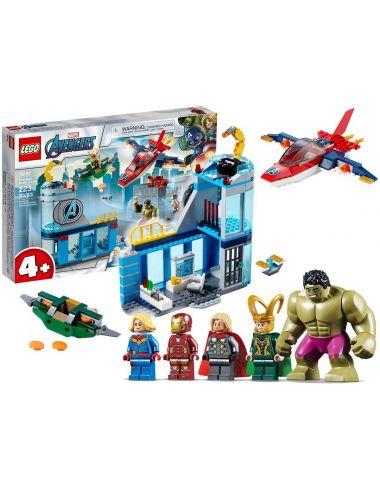 LEGO Marvel Avengersi Gniew Lokiego Super Heroes 76152