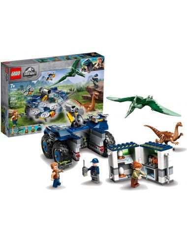 LEGO Jurassic World Gallimim i Pteranodon Ucieczka 75940