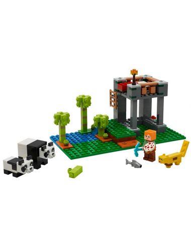 LEGO MINECRAFT Żłobek dla Pand Klocki 21158