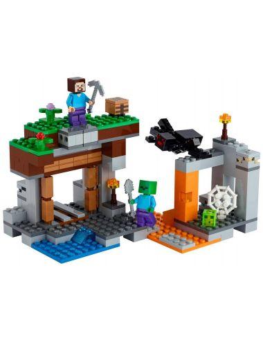 LEGO MINECRAFT Opuszczona Kopalnia Klocki 21166