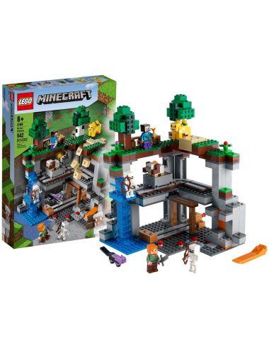 LEGO MINECRAFT Pierwsza Przygoda Klocki 21169