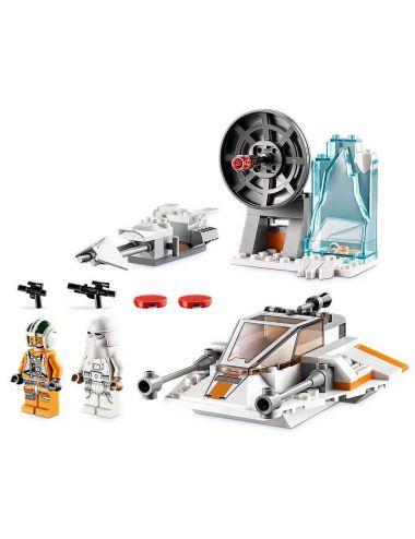 LEGO STAR WARS Śmigacz Śnieżny Klocki 75268