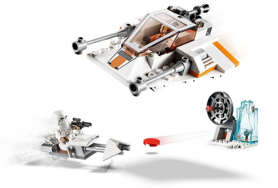 LEGO STAR WARS smigacz sniezny klocki 75268