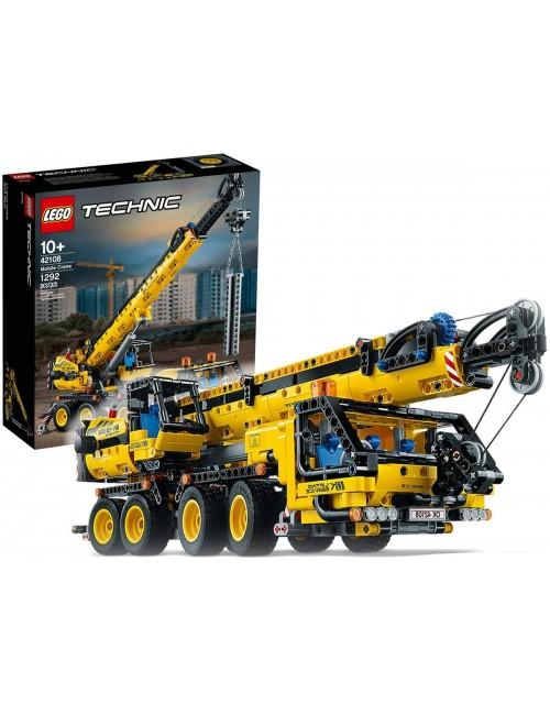 LEGO Technic Żuraw Samochodowy Klocki 42108