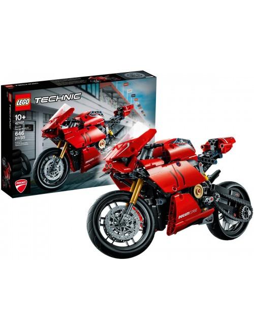 LEGO Technic Ducati Panigale V4 R Motor Klocki 42107