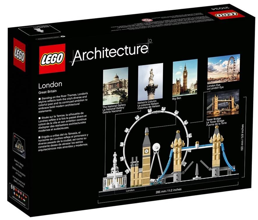 LEGO Architecture London klocki 21034