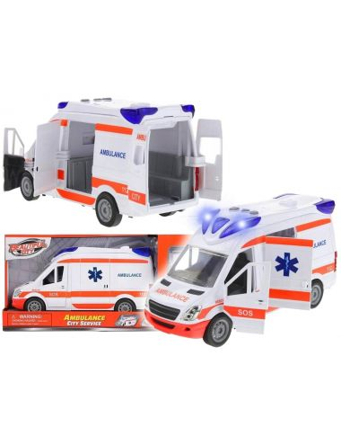 Auto Karetka Pogotowie Ratunkowe Ambulans Z Noszami NO-1003749