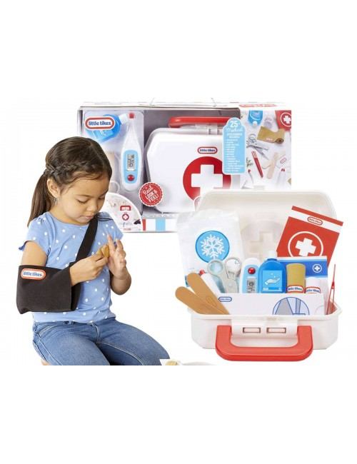 Little Tikes Zestaw Pierwszej Pomocy Podręczna Apteczka Medyczna 656156
