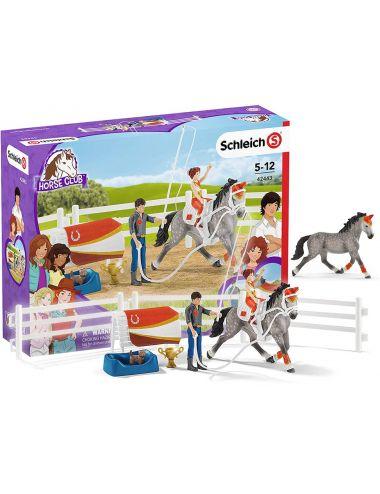 Schleich 42443 Zestaw Do Woltyżerki Mii Horse Club