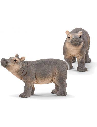 Schleich 14831 Figurka Hipopotam Dziecko Wild Life