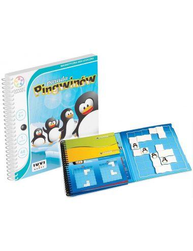 Smart Games Gra Logiczna Magnetyczna Parada Pingwinów SGT260
