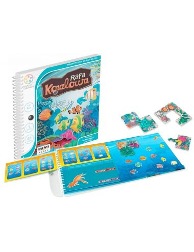 Smart Games Gra Logiczna Magnetyczna Rafa Koralowa SGT221