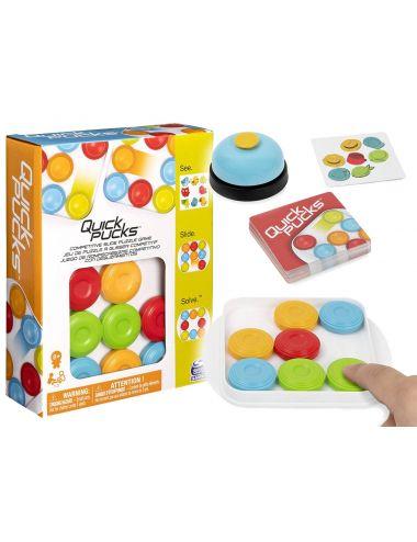 Spin Master Gra Zręcznościowa Quick Pucks Szybkie Krążki 6059122