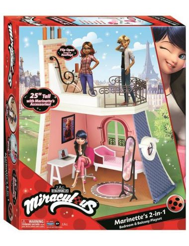Miraculous Pokój Marinette z Balkonem 50660