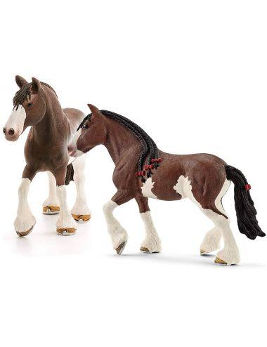 Schleich 13809 Klacz Clydesdale Horse Club