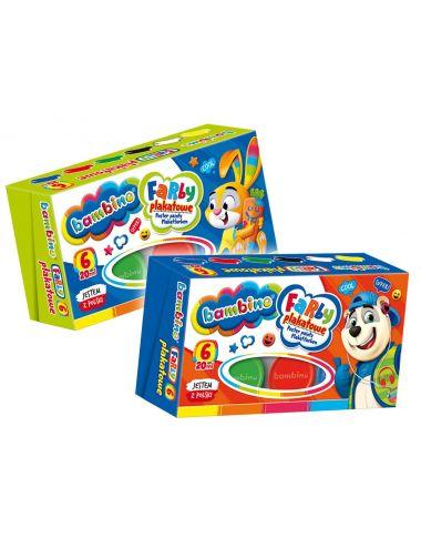 BAMBINO Farby Plakatowe dla dzieci 6 kolorów 5001598