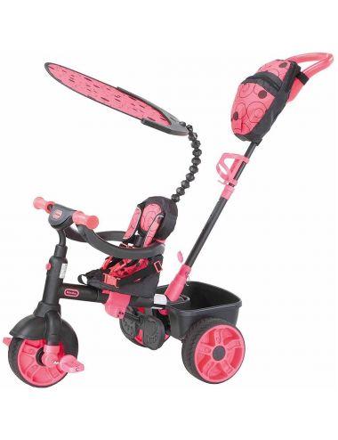 Little Tikes Rowerek 4w1 Trójkołowy Różowy DELUXE