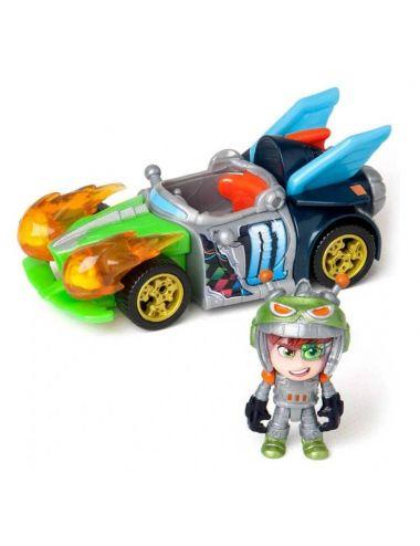 T-RACERS Zestaw Samochód z Figurką Turbo Wheel 5438