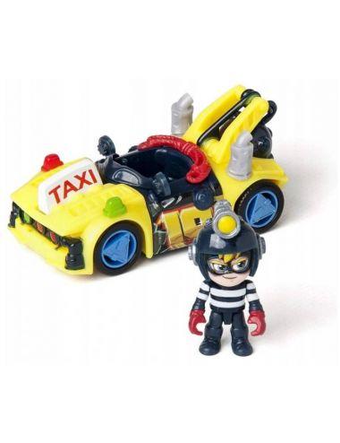 T-RACERS S Zestaw Samochód z Dźwigiem Turbo Crane Figurka 5711