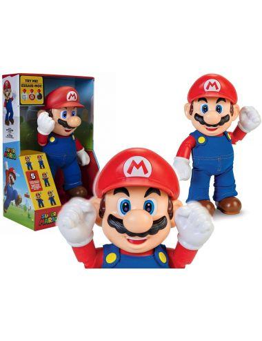 Super Mario Figurka Interaktywna To-Ja z Dźwiękiem 30cm 404304