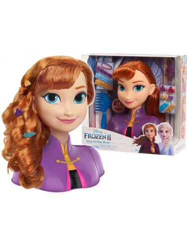 Disney Frozen II Głowa do Stylizacji Anna Kraina Lodu 32810