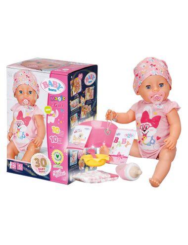 Baby Born Lalka Interaktywna Magic Girl 43cm 827956