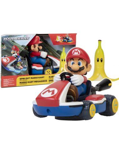 Super Mario Obracający się Gokart Samochód Mario 40874