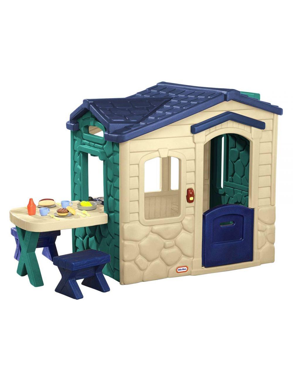 Little Tikes Domek Piknikowy z Patio i Magicznym Dzwonkiem 174117