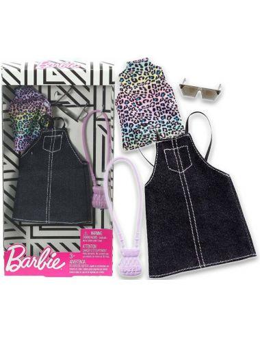 Barbie Sukienka Jeansowa Modne Kreacje GHW74