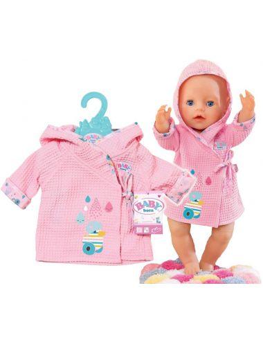 Baby Born Szlafroczek Ubranko Dla Lalki 827505 Różowy