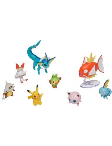 Pokemon Zestaw 8 Figurek Battle Multipack Seria 5