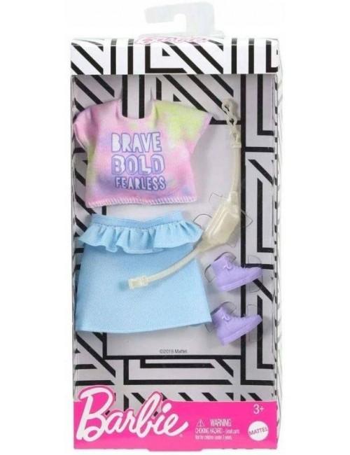 Spódniczka i bluzeczka dla lalki Barbie
