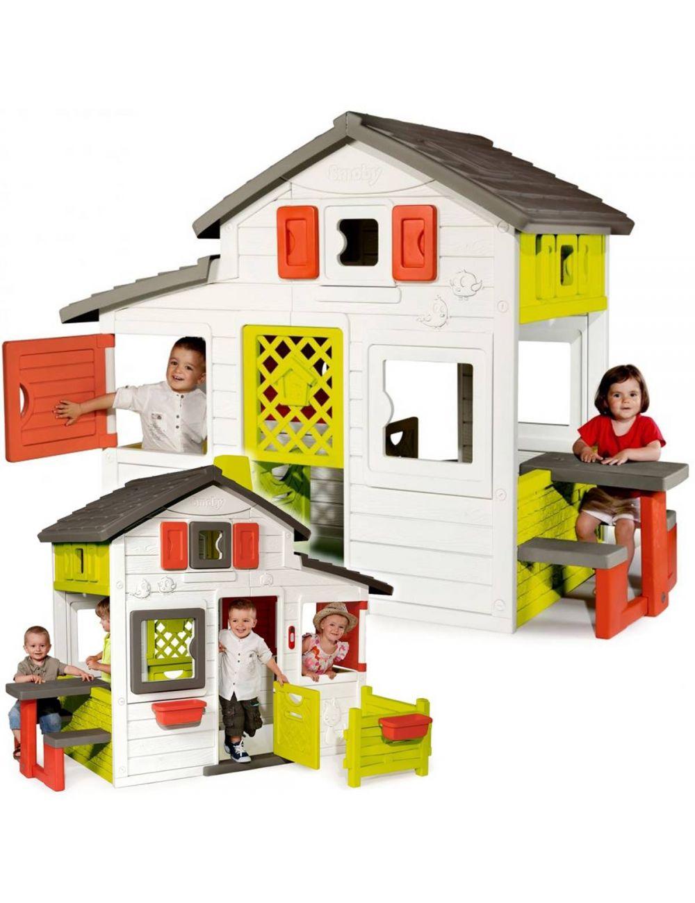 Smoby Domek Ogrodowy Friends House z Dzwonkiem 310209