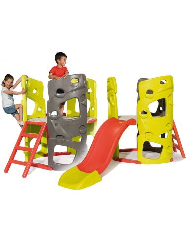 Smoby Wieża Spinaczkowa Duża Ze Zjeżdżalnią Plac Zabaw 840204