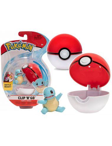 Pokemon Figurka Squirtle Clip'N'Go Poke Ball