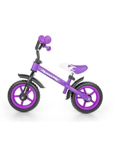 Milly Mally rowerek biegowy Dragon Fioletowy