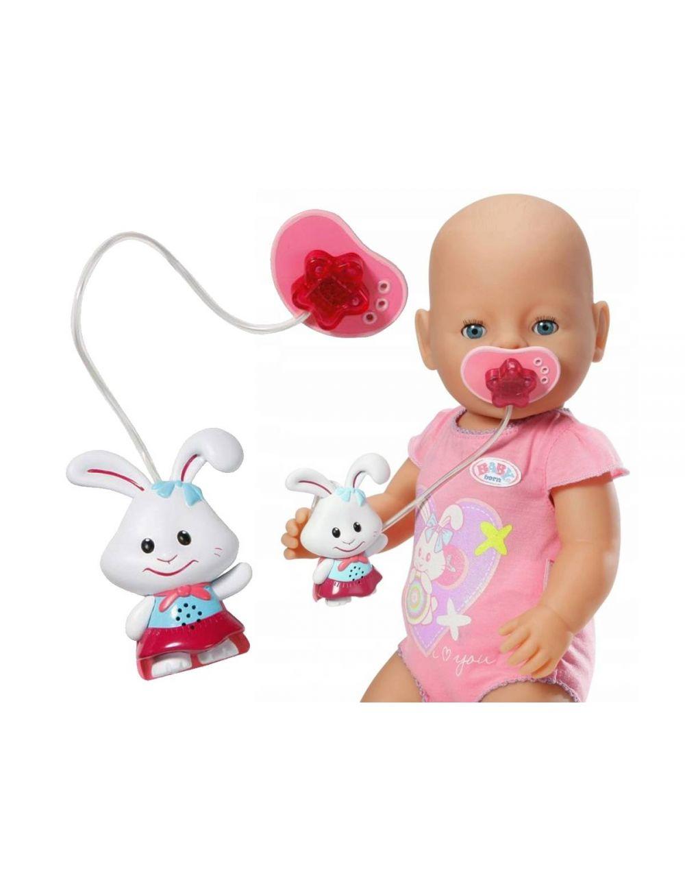 Baby Born Interaktywny Smoczek z Dźwiękiem Miś Zapf Creation