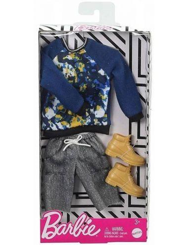 Barbie Ubranko dla Kena Bluza ze Spodenkami GHX53
