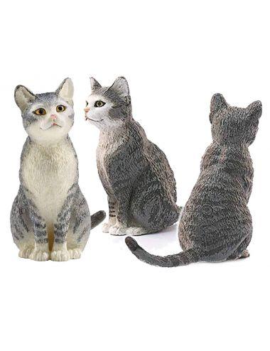 Schleich 13771 Kot Domowy siedzący figurka